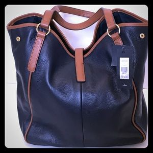 Tommy Hilfiger_Leather Tote_New